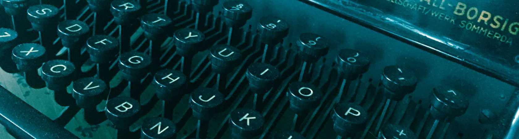 Code met de hand geschreven